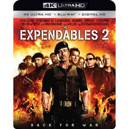 The Expendables 2 [4K UHD] [Blu-Ray] [Digital HD]