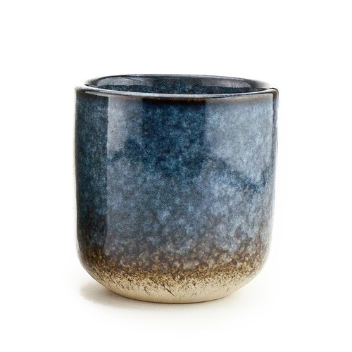 10 oz Ceramic Reactive Glaze Candle, No Lid