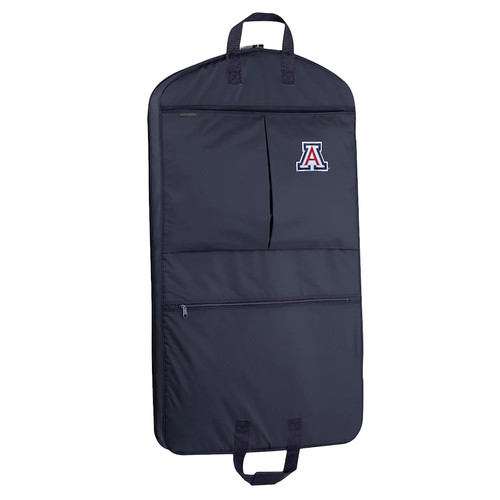 WallyBags Arizona Wildcats 40-Inch Pocketed Garment Bag