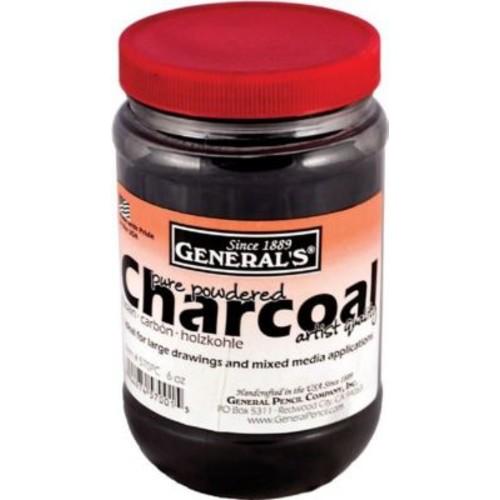 General 6 Oz Powdered Charcoal Jar