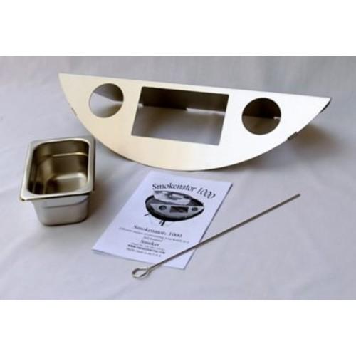 Smokenator 22'' Smoker Box Kit for Weber Charcoal Grill