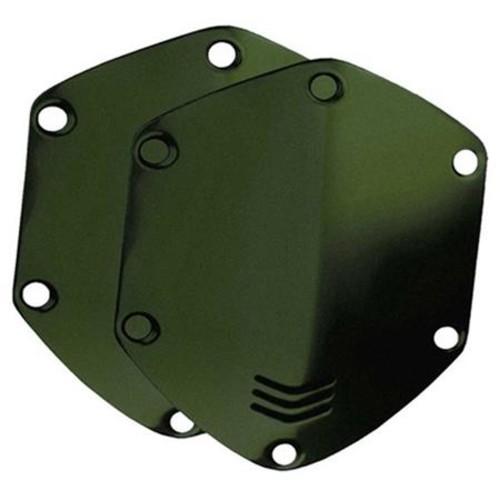V-Moda Over-Ear Custom Metal Shield Kit for Crossfade Headphones, Matte Green
