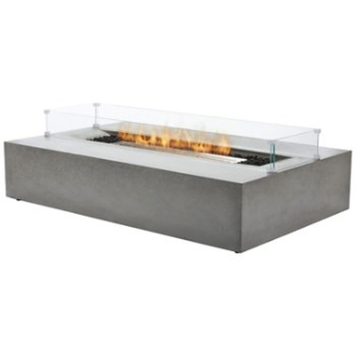 Brown Jordan Fires Flo Fire Table [Finish : Natural; Burner Type : Liquid Propane/Natural Gas]