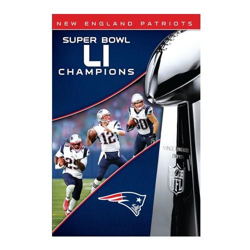England Patriots NFL Super Bowl 51Champions DVD