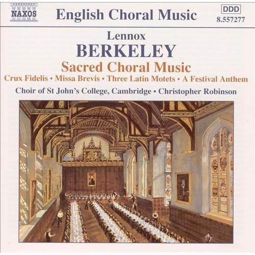 Berkeley: sacred Choral Music CD (2003)