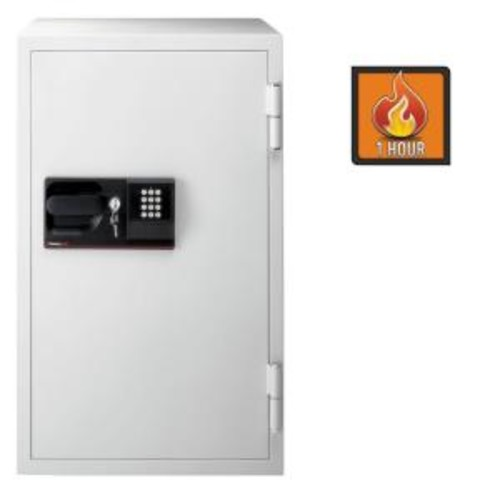 SentrySafe 5.8 cu ft Steel Commercial Safe with Electronic Lock and Key Lock