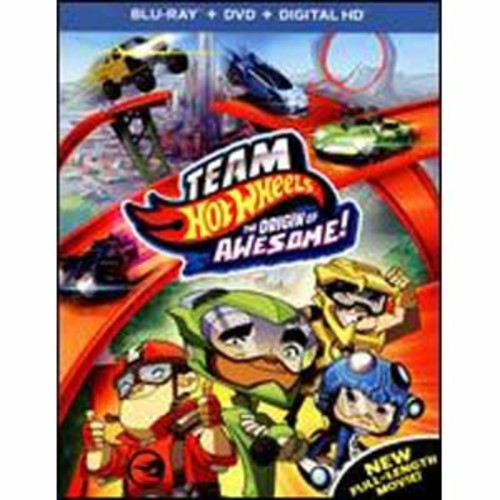 Team Hot Wheels: The Origin of Awesome! [2 Discs] [Includes Digital Copy] [UltraViolet] [Blu-ray/DV COLOR/WSE DD5.1/DD2/DHMA