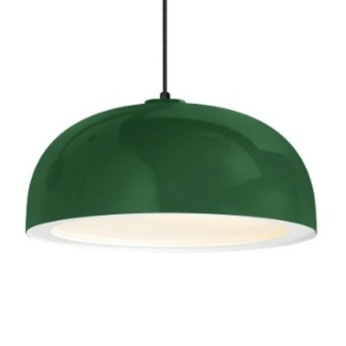 Dome Outdoor Pendant [Finish : Hunter Green]