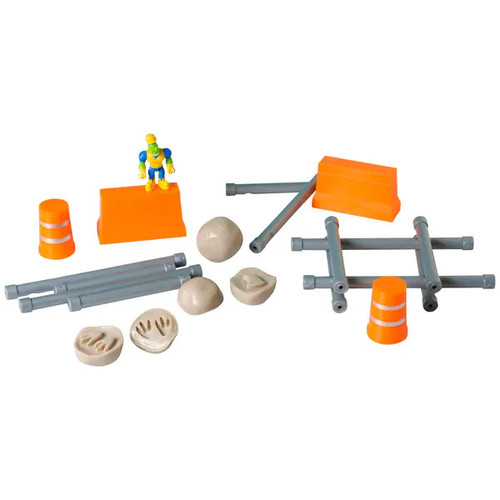 Educational Insights Dino Construction Company 20-Piece Build & Smash Set - Dino Constr Co 20-Piece Build & Smash Set