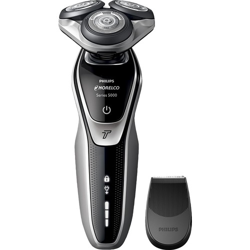 Philips Norelco - 5500 Wet/Dry Electric Shaver - Super Nova Silver