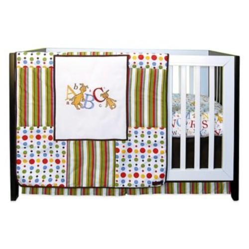 Trend Lab Dr. Seuss ABC 3-Piece Crib Bedding Set
