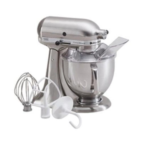KitchenAid 5-Quart Tilt-Head Stand Mixer in Brushed Nickel - KSM152PSNK
