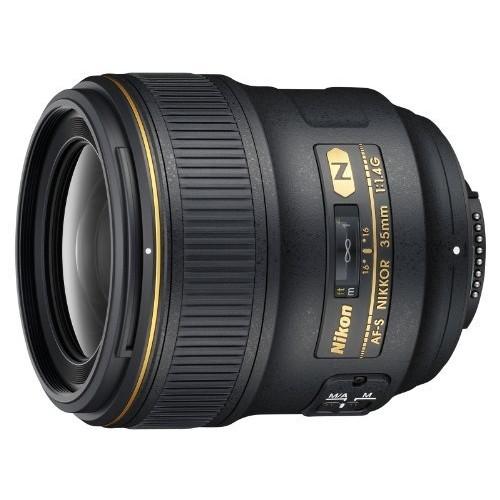 Nikon AF FX NIKKOR 35mm f/1.4G Fixed Focal Length Lens with Auto Focus for Nikon DSLR Cameras [Lens Only]