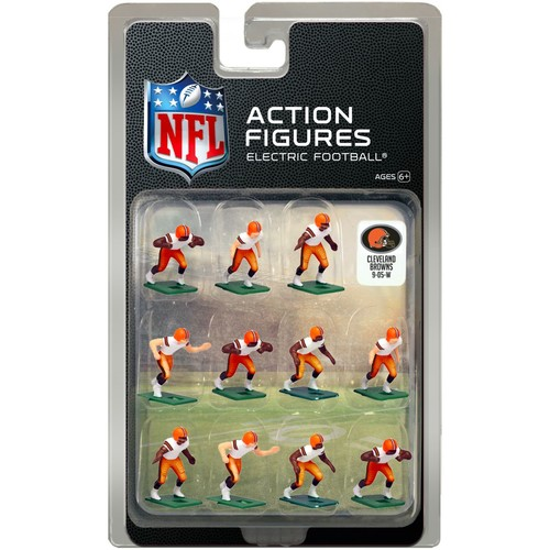 Tudor Games Cleveland Browns White Uniform NFL Action Figure Set