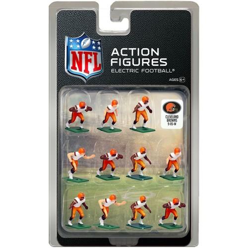 Tudor Games Cleveland Browns White Uniform NFL Action Figure Set