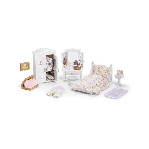 Calico Critters Girl Lavender Bedroom