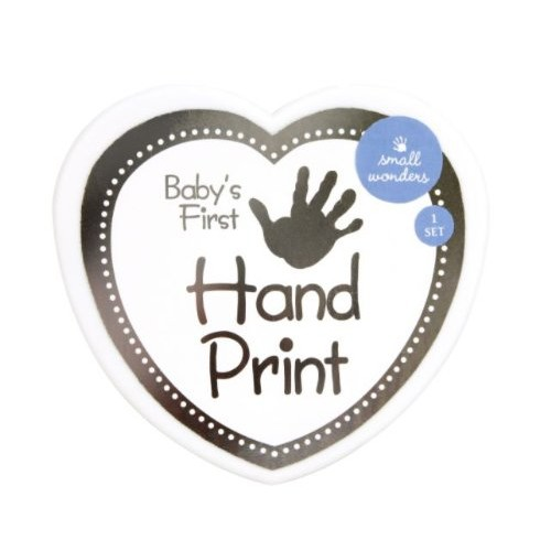 Small Wonders - Baby's First - Handprint Set [White]