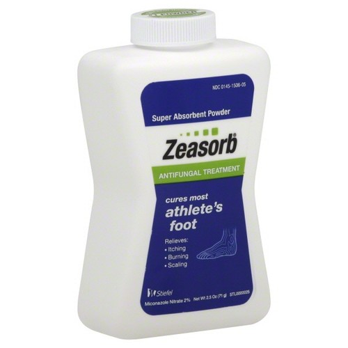 Zeasorb Antifungal Treatment, Powder, 2.5 oz (71 g)