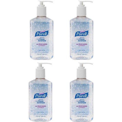 PURELL Advanced Instant Hand Sanitizer, 12 fl oz, 4 count