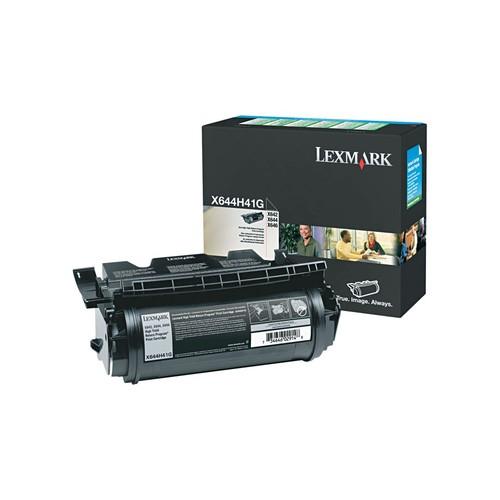 Lexmark Toner Cartridge, X644H41G, High Yield, Black