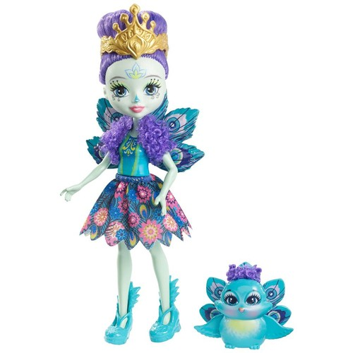 Enchantimals 6-inch Fashion Doll - Patter with Peacock