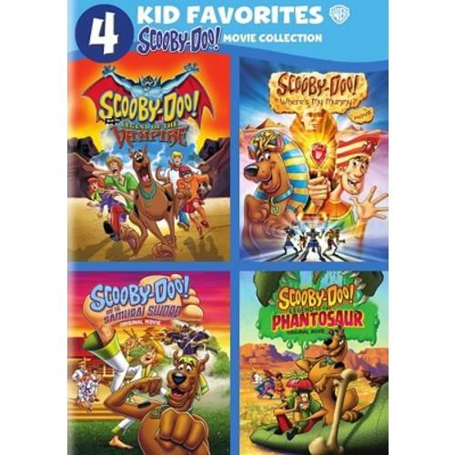 4 kid favorites:Scooby doo (DVD)