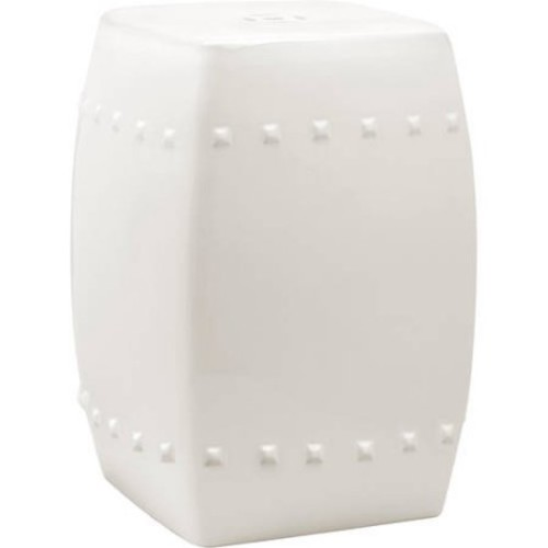 Safavieh Villa Cream Garden Stool