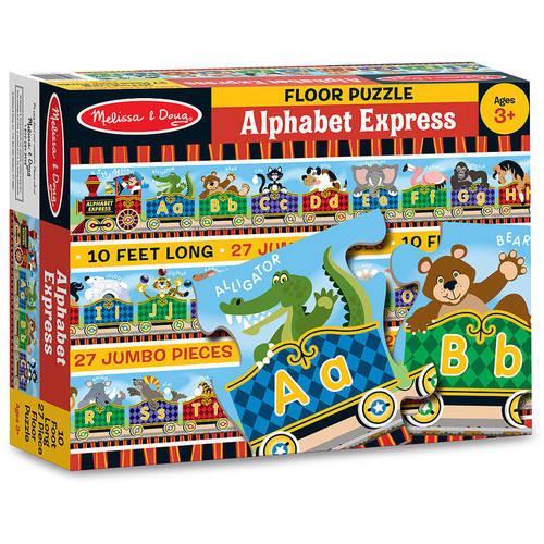 Melissa & Doug Alphabet Express Jumbo Jigsaw Floor Puzzle