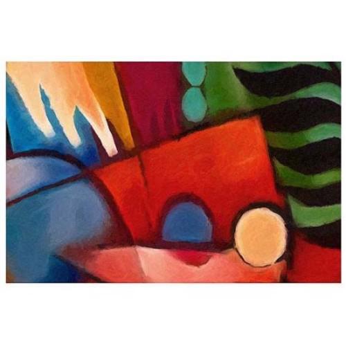 Adam Kadmos 'Tropicana' Gallery-wrapped Canvas Art