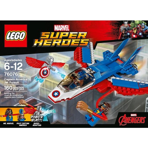 LEGO - Marvel Super Heroes Captain America Jet Pursuit
