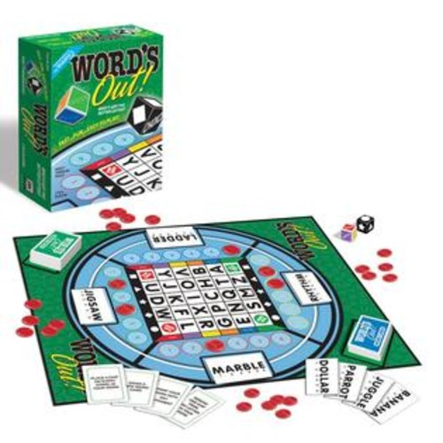 Jax Ltd Games Word's Out! Word Game