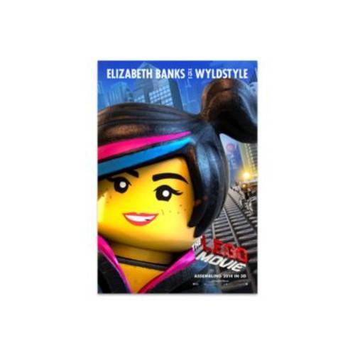 LEGO MOVIE Wyldstyle Poster