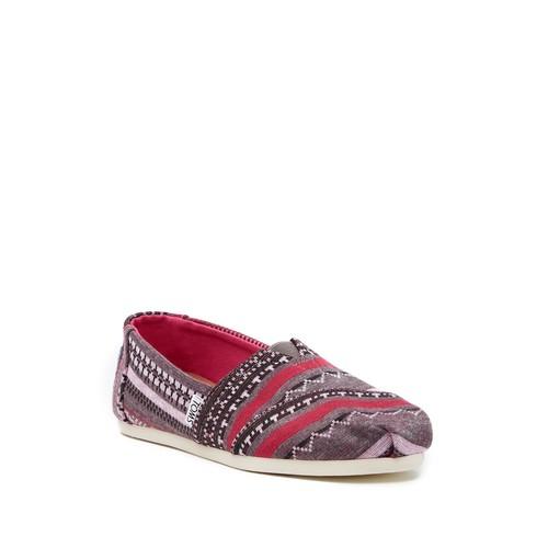 Classic Fuchsia Jersey Slip-On