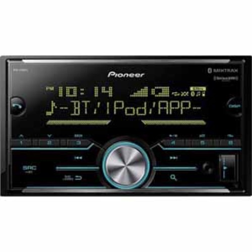 Pioneer Double DIN Digital Media Receiver with Built-in Bluetooth