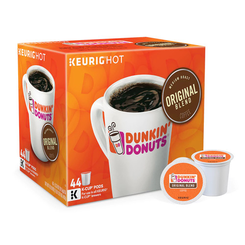 Keurig K-Cup Portion Pack Dunkin' Donuts Original Blend Coffee - 44-pk.