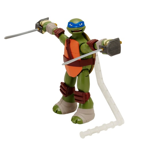 Nickelodeon,Teenage Mutant Ninja Turtles Teenage Mutant Ninja Turtles Deluxe Ninja Action Figure - Leonardo