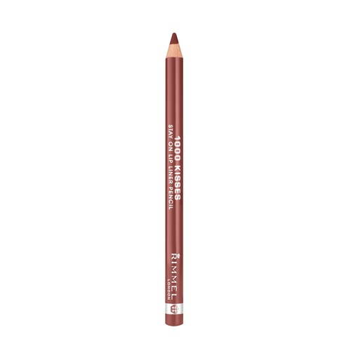 1000 Kisses Stay On Lip Liner Pencil, Coffee Bean 041, 0.04 oz (1.2 g)