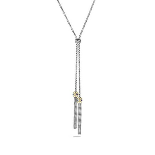 Renaissance Tassel Necklace with 14K Yellow G