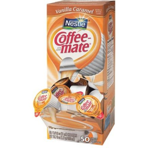 Nestle Coffee-mate Liquid Coffee Creamer Singles, 50ct