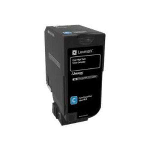 Lexmark - High Yield - cyan - original - toner cartridge LCCP, LRP - for Lexmark CX725de, CX725dhe, CX725dthe
