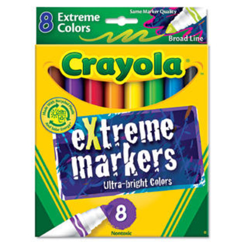 Crayola Extreme Color Marker Assorted 8/Pack