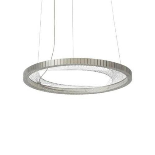 LBL Lighting Interlace 18 in. Satin Nickel LED Chandelier Shade