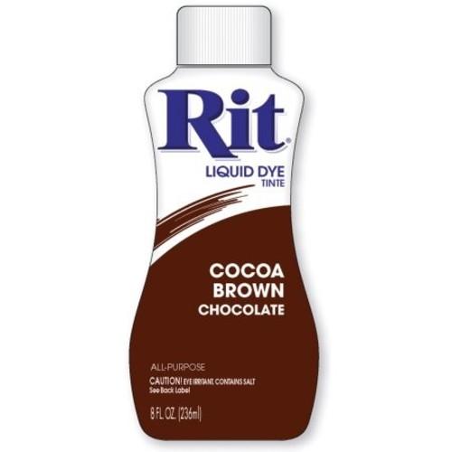 Rit Liquid Dye, Cocoa Brown 20 8 fl oz (236 ml)