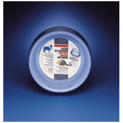 Allied Precision HPB5 Heated Pet Bowl, 5 Quart