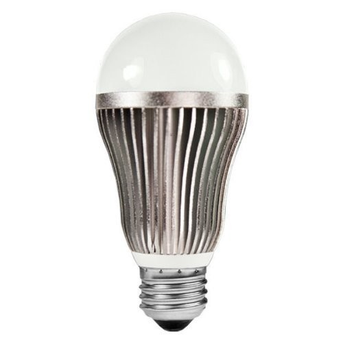13 Watt - Dimmable - LED Light Bulb - A19 - 5000K Stark White - 800 Lumens - 60 Watt Equal - 120 Volt - Kobi Cool 60+