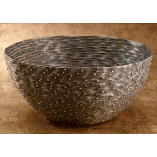 Varick Gallery Cauley Coiled Wire Serving Bowl