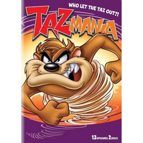 Taz-Mania: Who Let Taz Out Season 1 Part 2 DVD