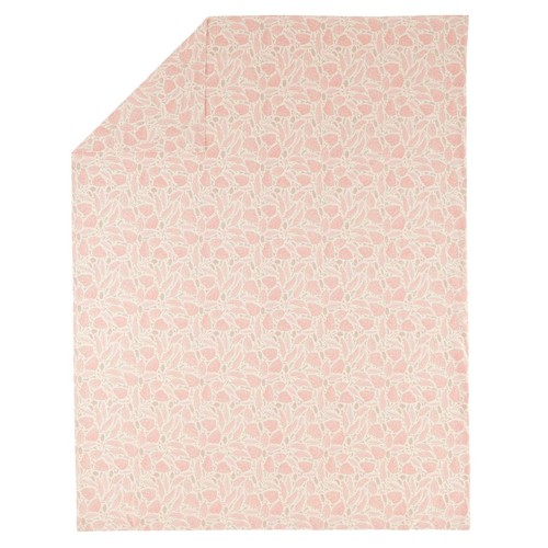 Organic Well Nested Pink Twin Duvet Cover