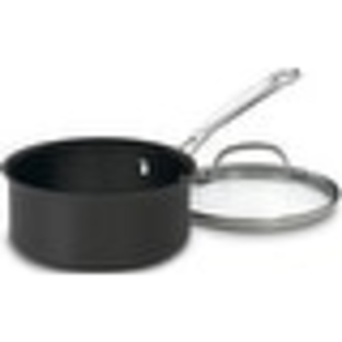 Cuisinart 619-16 Non Stick Hard Anodized Saucepan With Lid, 1.5 Quart