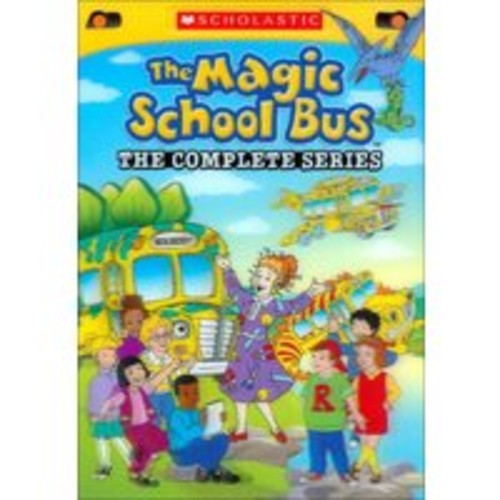 The Magic School Bus: The Complete Series (8 Discs) (dvd_video)
